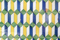 Azulejos, πορτογαλικά κεραμίδια Στοκ Εικόνα