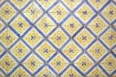 Azulejos, πορτογαλικά κεραμίδια Στοκ Φωτογραφία