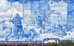 Azulejos Лиссабона стоковые фотографии rf