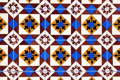Azulejos (墙壁瓦片)在波尔图 库存照片