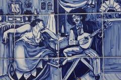 Azulejos arkivfoto