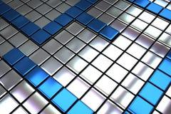 Azulejos abstractos del metal imagen de archivo libre de regalías