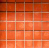 Azulejos anaranjados Fotografía de archivo