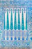 Azulejos azules Fotografía de archivo