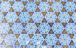 Azulejos azules Foto de archivo