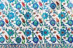 Azulejos azules Foto de archivo libre de regalías