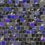 Azulejos azules stock de ilustración