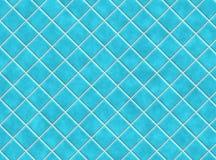 Azulejos azules del cuarto de baño Fotografía de archivo libre de regalías