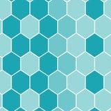 Azulejos azules inconsútiles Foto de archivo libre de regalías