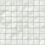 Azulejos blancos Imágenes de archivo libres de regalías