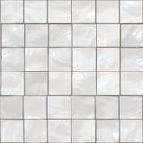 Azulejos blancos Fotos de archivo