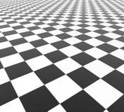 Azulejos blancos y negros Fotografía de archivo