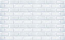 Azulejos brancos Imagem de Stock