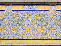 Azulejos On a Building Exterior Royalty Free Stock Image