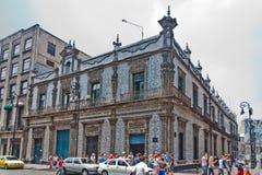 azulejos casa miasto de los Mexico Zdjęcie Stock