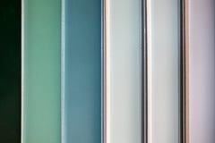 Azulejos coloridos - variação de telhas coloridas diferentes imagens de stock royalty free