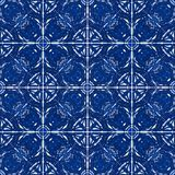 Azulejos concept background. It`s a seamless texture Royalty Free Stock Images
