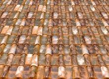 Azulejos de azotea Imagen de archivo