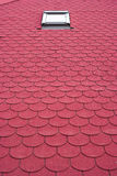 Azulejos de azotea Foto de archivo libre de regalías