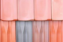 Azulejos de azotea Fotografía de archivo