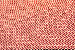Azulejos de azotea Foto de archivo