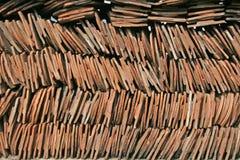 Azulejos de azotea Imágenes de archivo libres de regalías