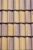 Azulejos de azotea de cerámica foto de archivo libre de regalías