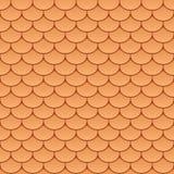 Azulejos de azotea inconsútiles ilustración del vector