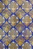 Azulejos de cerámica de la pared en Sevilla, España Imagenes de archivo
