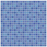Azulejos de cristal azules y púrpuras Imagenes de archivo