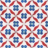 Azulejos de Iznik ilustración del vector