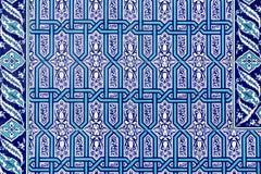 Azulejos de Iznik Fotos de archivo libres de regalías