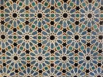 Azulejos de la pared en España Foto de archivo