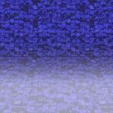 Azulejos de la piscina reflejados libre illustration