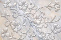 Azulejos de mármol de la decoración Imágenes de archivo libres de regalías