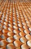 Azulejos de madera en casa Foto de archivo