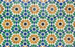 Azulejos de Marruecos Imágenes de archivo libres de regalías