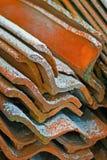 Azulejos de material para techos Imagenes de archivo