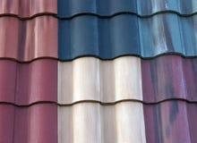 Azulejos de material para techos fotos de archivo libres de regalías