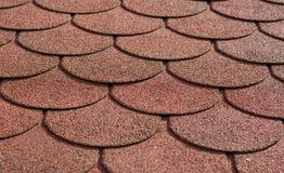 Azulejos de material para techos Imágenes de archivo libres de regalías