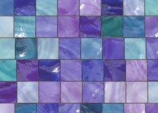Azulejos de moda del diseño interior Foto de archivo