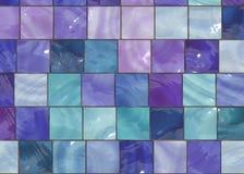 Azulejos de moda del diseño interior Imagen de archivo libre de regalías