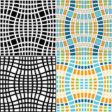 Azulejos de mosaico Fotografía de archivo