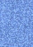 Azulejos de mosaico azules Imagen de archivo libre de regalías