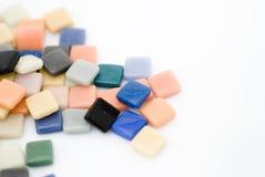 Azulejos de mosaico multicolores Fotografía de archivo libre de regalías