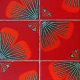 Azulejos de mosaico retros Fotos de archivo libres de regalías