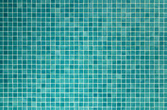 Azulejos de mosaico verdes para el cuarto de baño y la cocina Fotografía de archivo libre de regalías