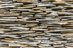 Azulejos de piedra empilados Imagen de archivo libre de regalías
