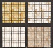 Azulejos de piedra naturales Fotografía de archivo