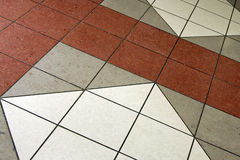 Azulejos de suelo foto de archivo libre de regalías